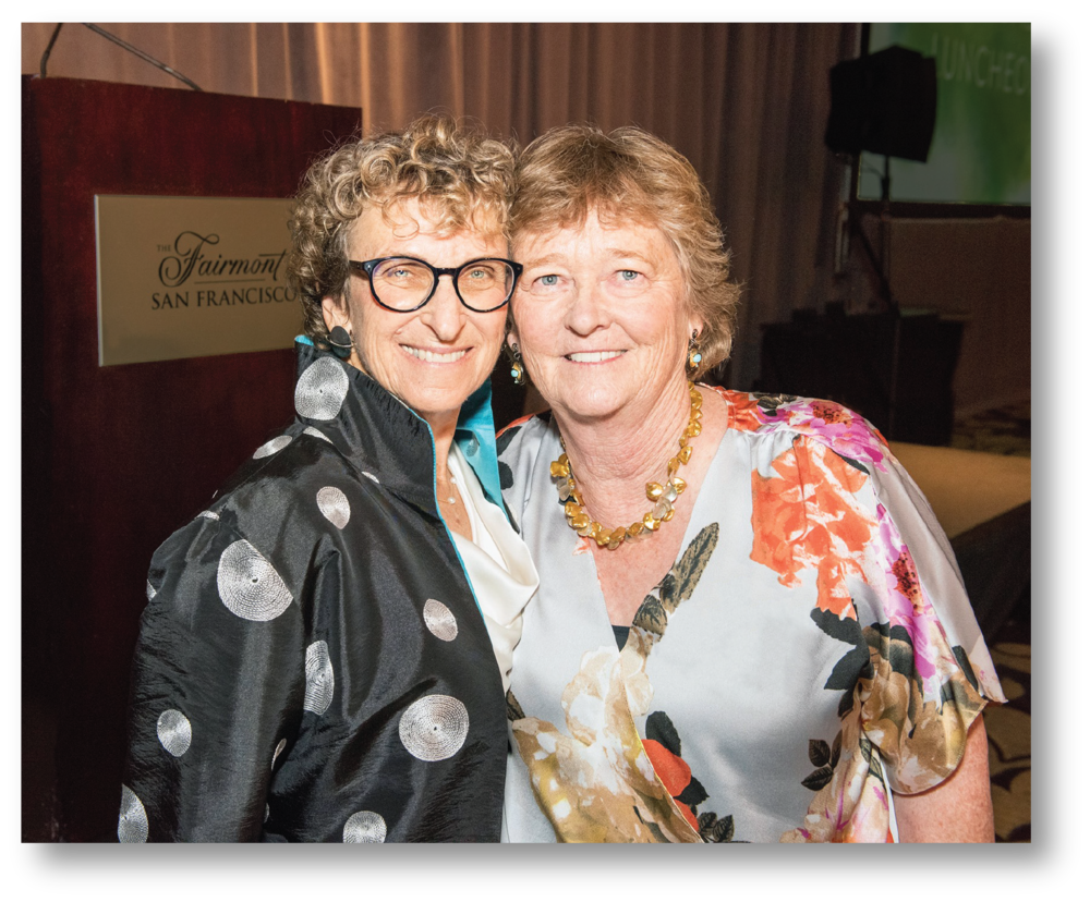 Martha Ryan and Board President, Cheri Pies