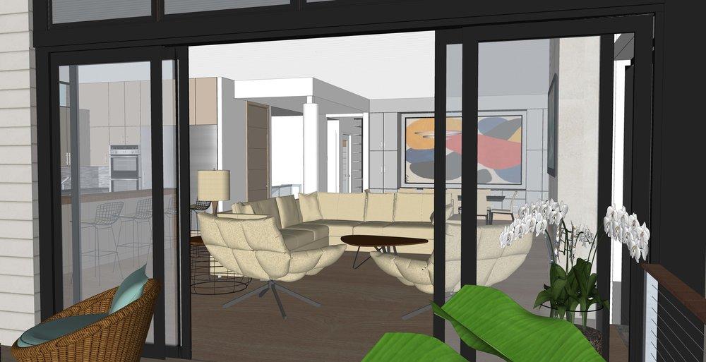 Beachfront Home #residence#home#homebuilder#virginiabeach#architect#architecture#vacation#duplexes#VirginiaBeach#sanctuary#resorthome#interiordesign#beachfront