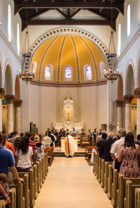 Sacred Heart Catholic Church #church#temple#renovation#sanctuary#worship#synagogue#architect