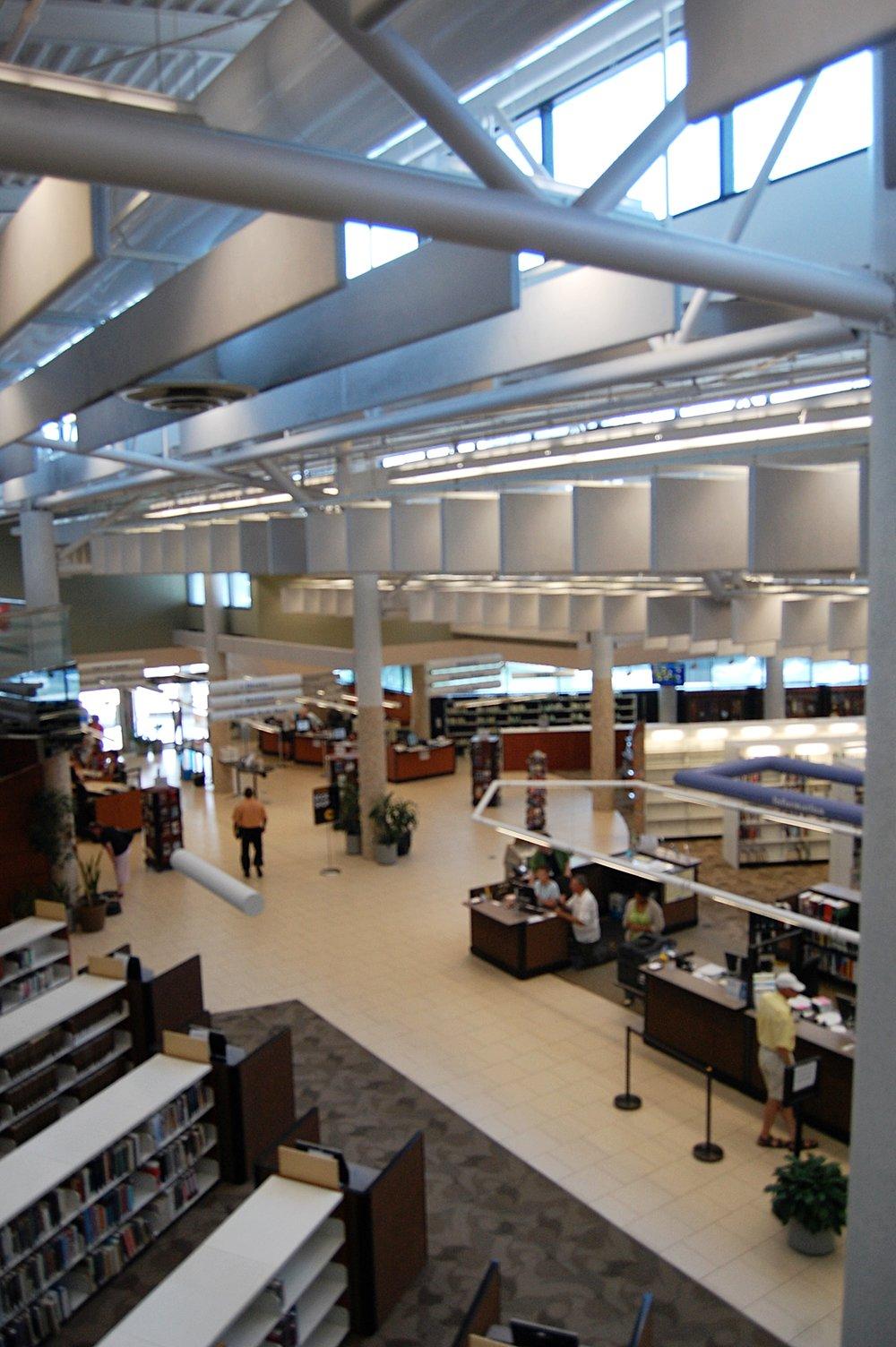 Meyera E. Oberndorf Central Library #daylighting#sustainability#sustainabledesign#energyefficency#passivesolar#LEED#renewableenerygy#VirginiaBeach