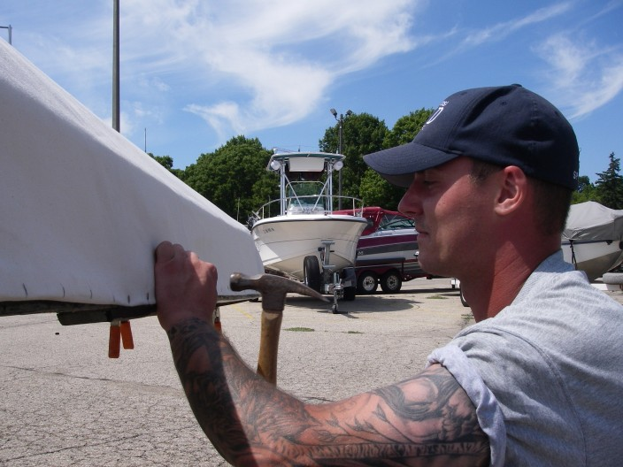 WORK ON BOATS. - ICCM has seven currachs plus equipment that require ongoing upkeep. We need help from boatbuilders, woodworkers, or anyone interested in this traditional Irish craft to helpkeep our fleet in rowing shape.