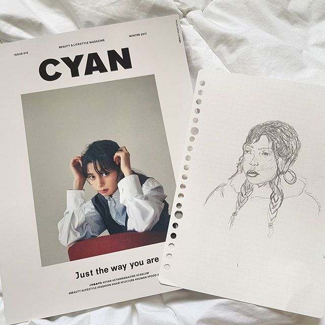 This Japanese mag is the best thing to happen since Yen stopped publishing 💫 ⚘🕊 @cyanmagazine