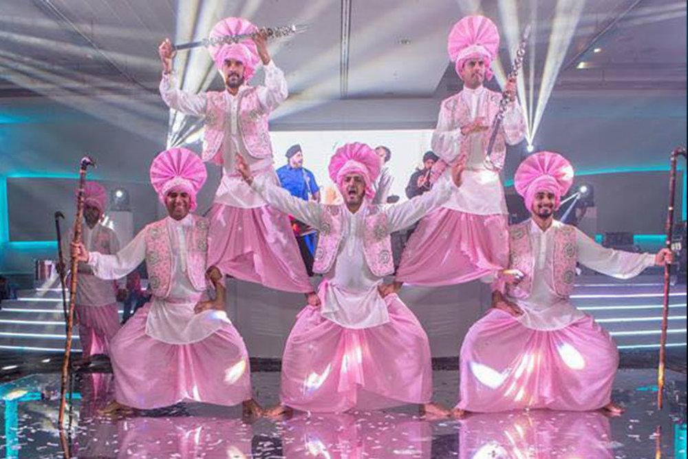 BHANGRA DANCERS -