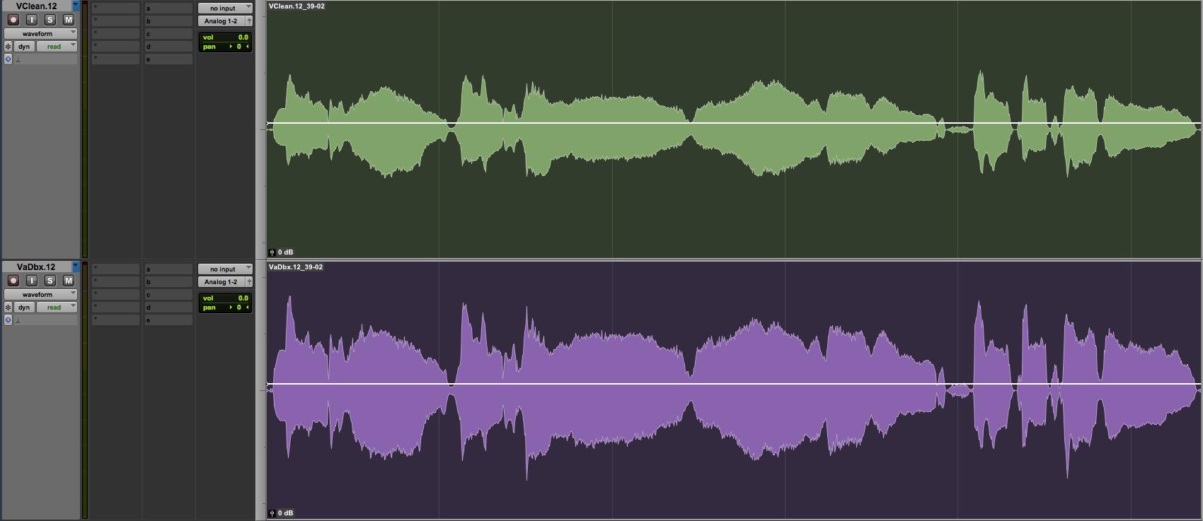 distressor compressor on vocals