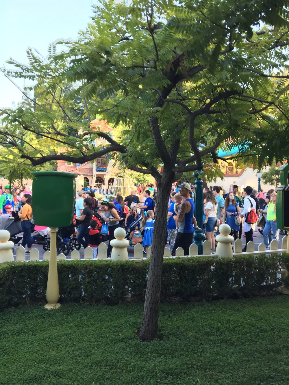 Toontown lines are just too long.