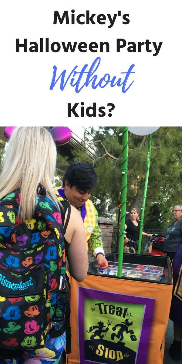Can Adults go to Mickey's Halloween Party without kids?
