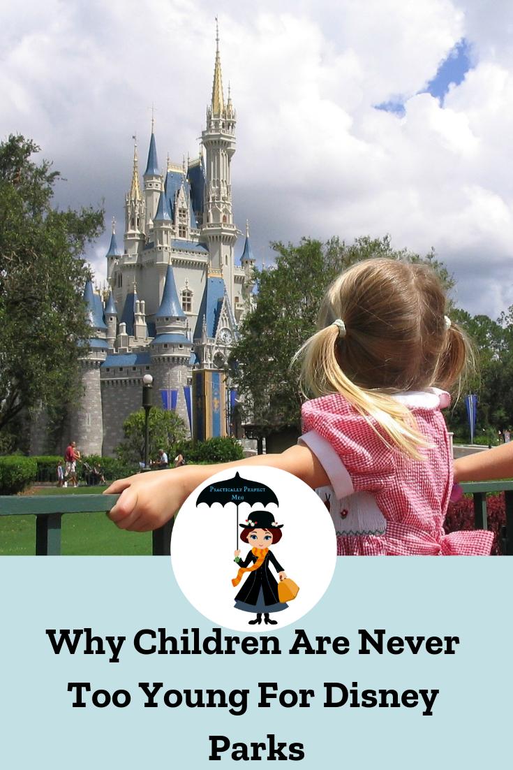 Why Children Are Never Too Young For Disney Parks.. #Disneyland #DisneyParks #WaltDisneyWorld