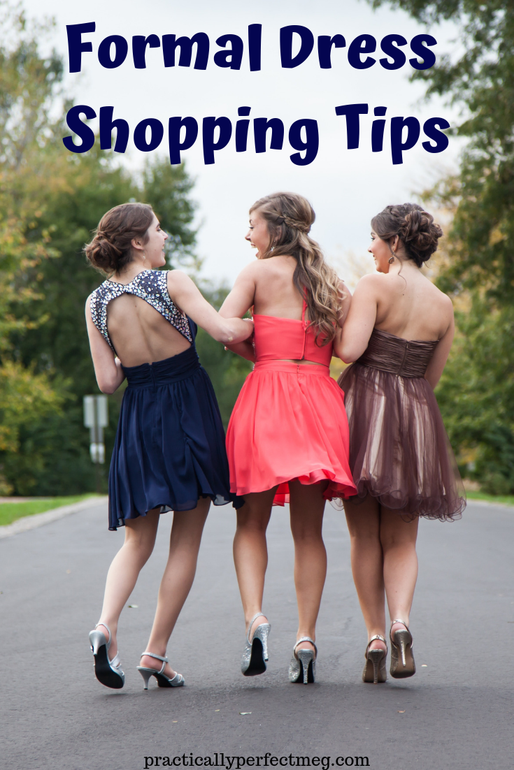 Formal Dress Shopping Tips. #prom #winterformal #homecoming