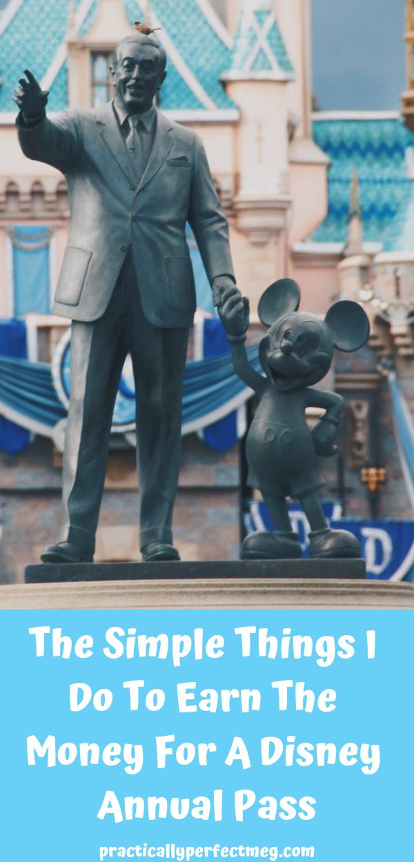 How I earn a free Disney annual pass. #Disneyland #WaltDisneyWorld