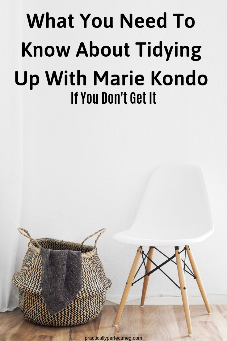 What You Need To Know About Tidying Up With Marie Kondo. #TidyingUpWithMarieKondo #Decluttering