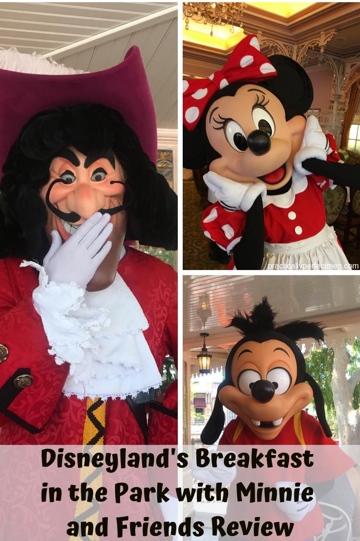 Disneyland's Breakfast in the Park with Minnie and Friends Review. #Disneyland #CharacterDining #DisneyCaliforniaAdventure #DisneyFood