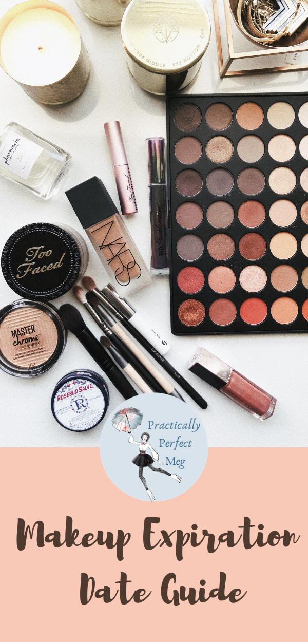 Makeup Exeration Date Guide. #Makeup #BeautyTutorial #MakeupExpiration