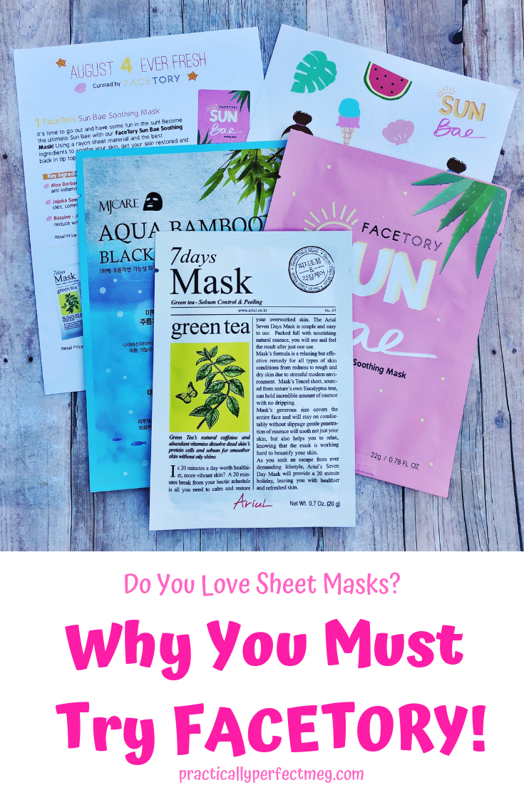 Why you need to try FaceTory. #FaceTory #sheetmask #subscriptionboxes  #beauty #kbeauty