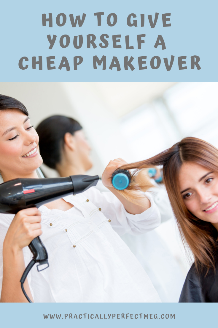 How to give yourself a cheap makeover. #diybeauty #beauty #beautytutorial #makeup #hair #fashion #makeover #frugalmakeover