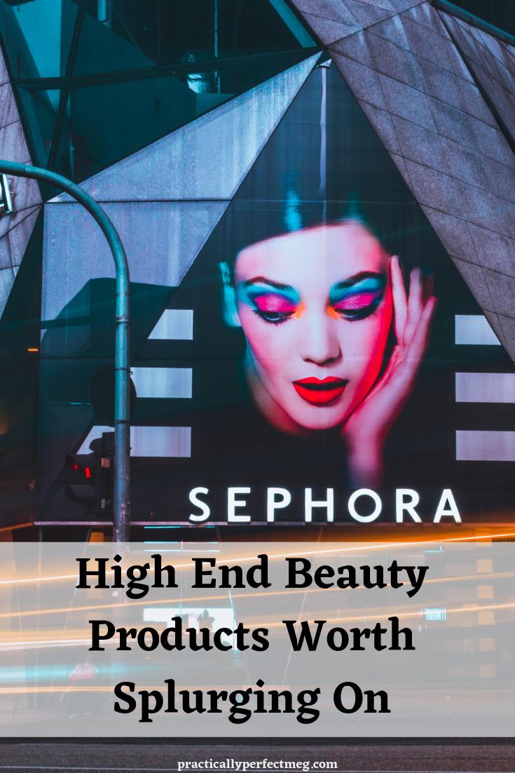 Beauty Products worth splurging on. #beauty #beautytutorial #makeup #skincare #Sephora #ulta