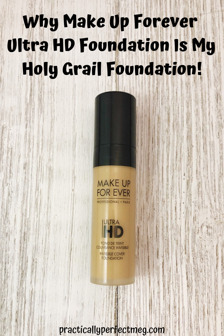 Makeup Forever Ultra HD Foundation review. #MakeUpForeverUltraHD #beautyblog #makeup #foundation