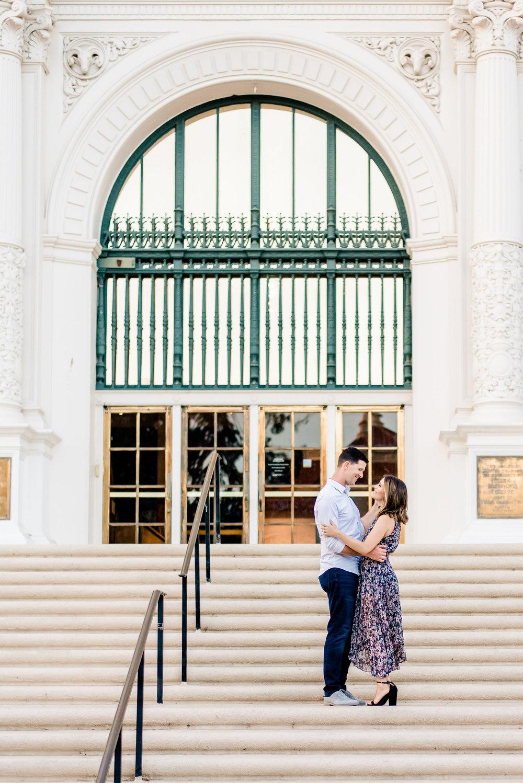 Balboa Park Engagement -