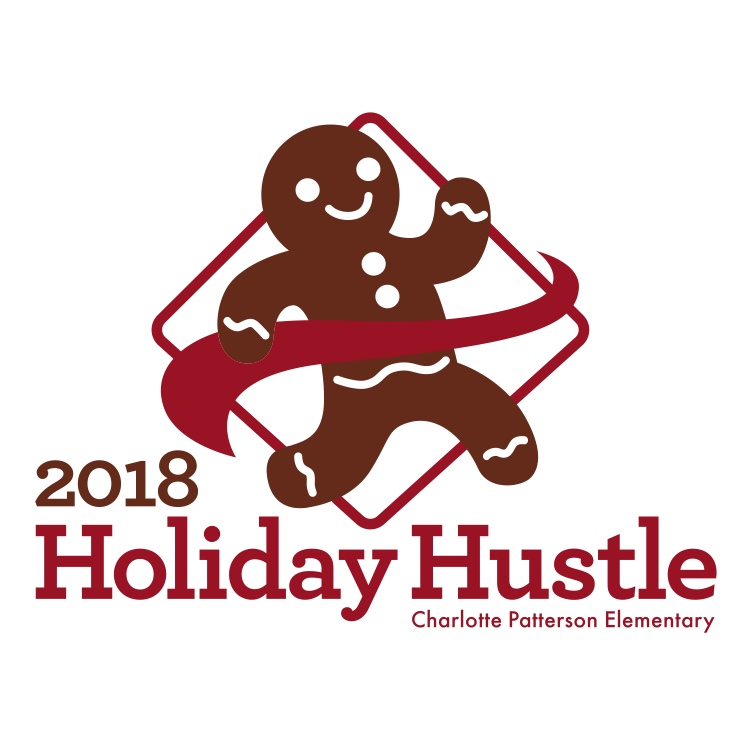 Holiday Hustle, Charlotte Patterson's Fun Run, is Thursday, December 20th! Orders are due Friday, December 7th! - T-Shirt Options: Long Sleeve Shirts $12, Short Sleeve T-Shirts $10T-Shirt Sizes: Youth: S, M, L or XL; Adult: S, M, L, XL or XXLT-Shirt Details: All Shirts will be white, Gildan, Heavy Cotton™ 100% Cotton T-ShirtsWe will deliver the shirts the week of the Holiday Hustle
