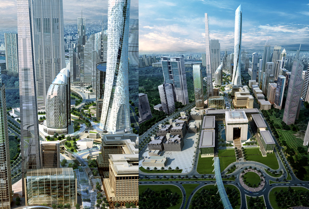 Dubai international financial center - Dubai, United Arab Emirates