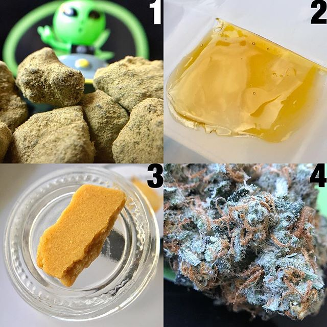 What's your favorite way to medicate? 1. #moonrocks 2. #rosin 3. #crumble 4. #flower  Did you know we now carry all of the above? @organixxdistribution . . . . . #organixx #weedofig #kush #stonerchick #w420 #cannabis #420girls #weedgram #f4f #bud #dankshots420 #mmj #wedontsmokethesame #cannabisculture #prop215 #420photography #stonerday #marihuana #pot #collective #420art #stickyicky #deliveryservice #cbdofficial #dankshots #hakunamatatalifestyle