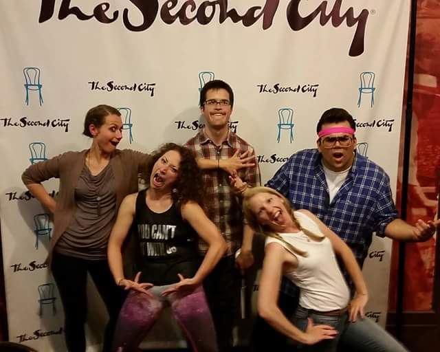 "SECOND CITY. COACHED ENSEMBLE ""WE'RE TRENDY THO."""