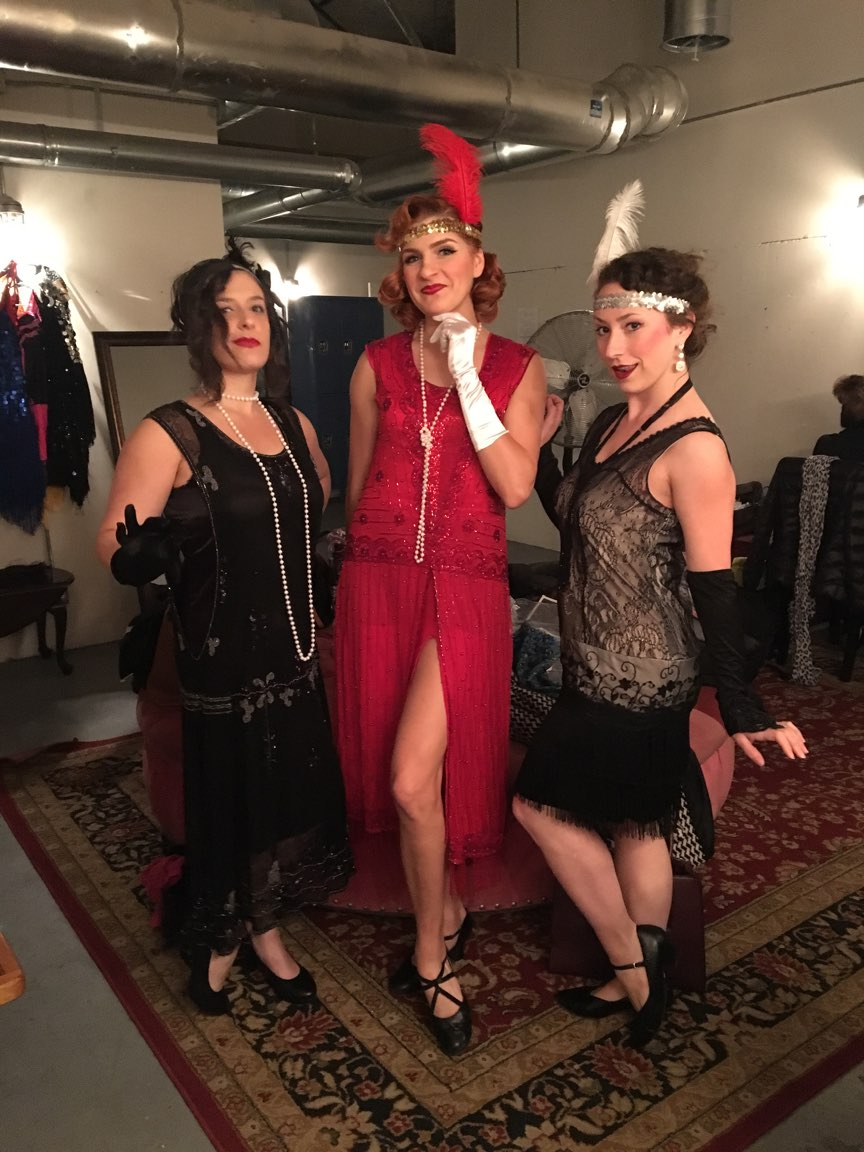 "REDMOON THEATRE. ""FLAPPERS."""