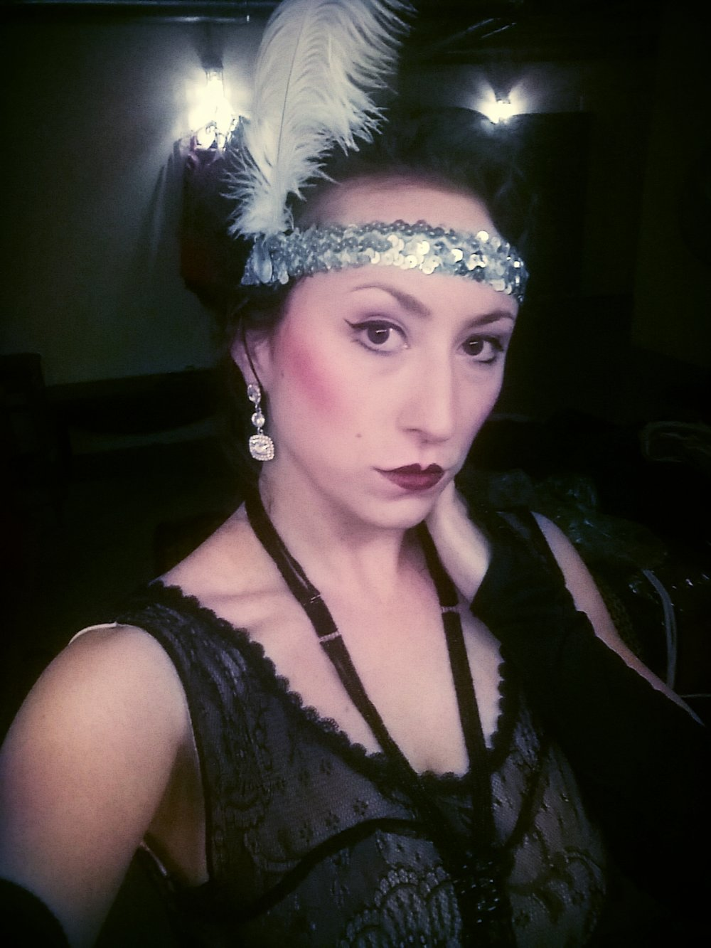 "REDMOON THEATRE. ""FLAPPER."""