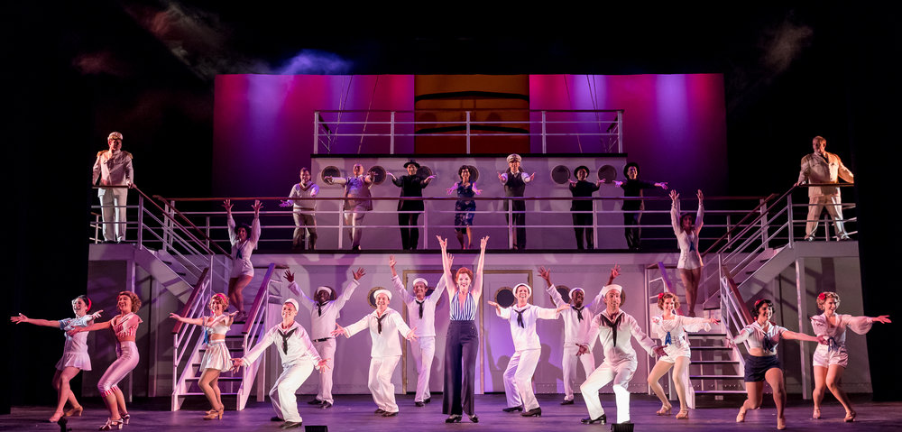 Anything Goes. Music Theater Works. Directed by: Rudy Hogenmiller. PC: Brett Beiner.