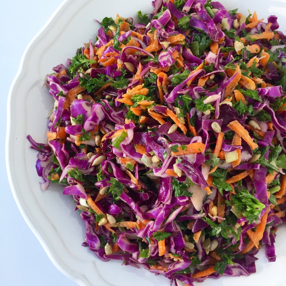 Purple cabbage salad.JPG