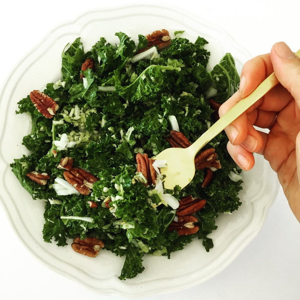 Green Goodness Kale salad.JPG