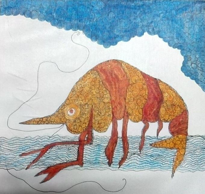 Untitled [Crustacean] (2017)