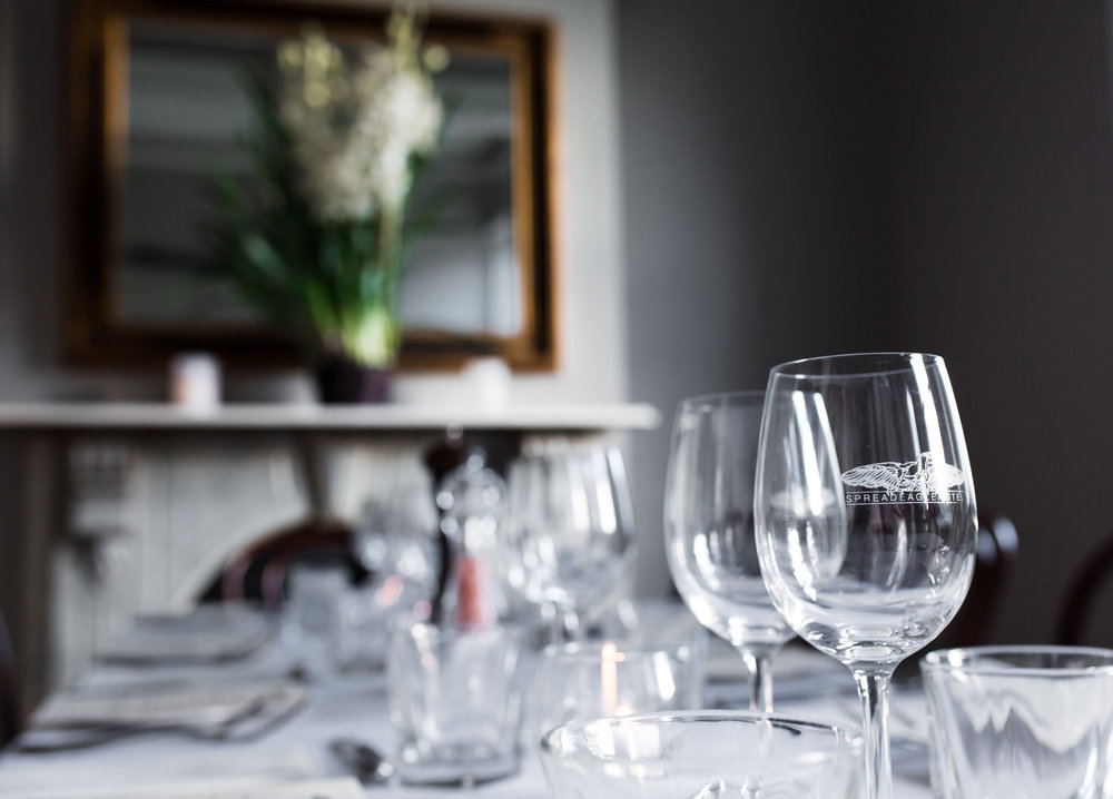 private dining - Whether it be a three course dinner, casual lunch with friends or a birthday party, look no further: our function spaces are as versatile as our menu.Lunch, dinner, finger food, cocktails - we have you covered. Email or ring us for more details. info@spreadeagle.com.au 03 9428 6895