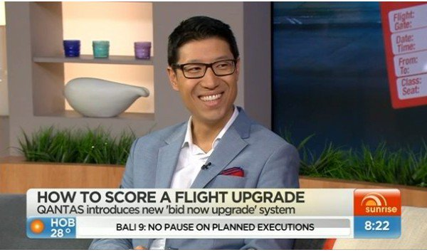 Sunrise Morning Show – How to score a flight upgrade