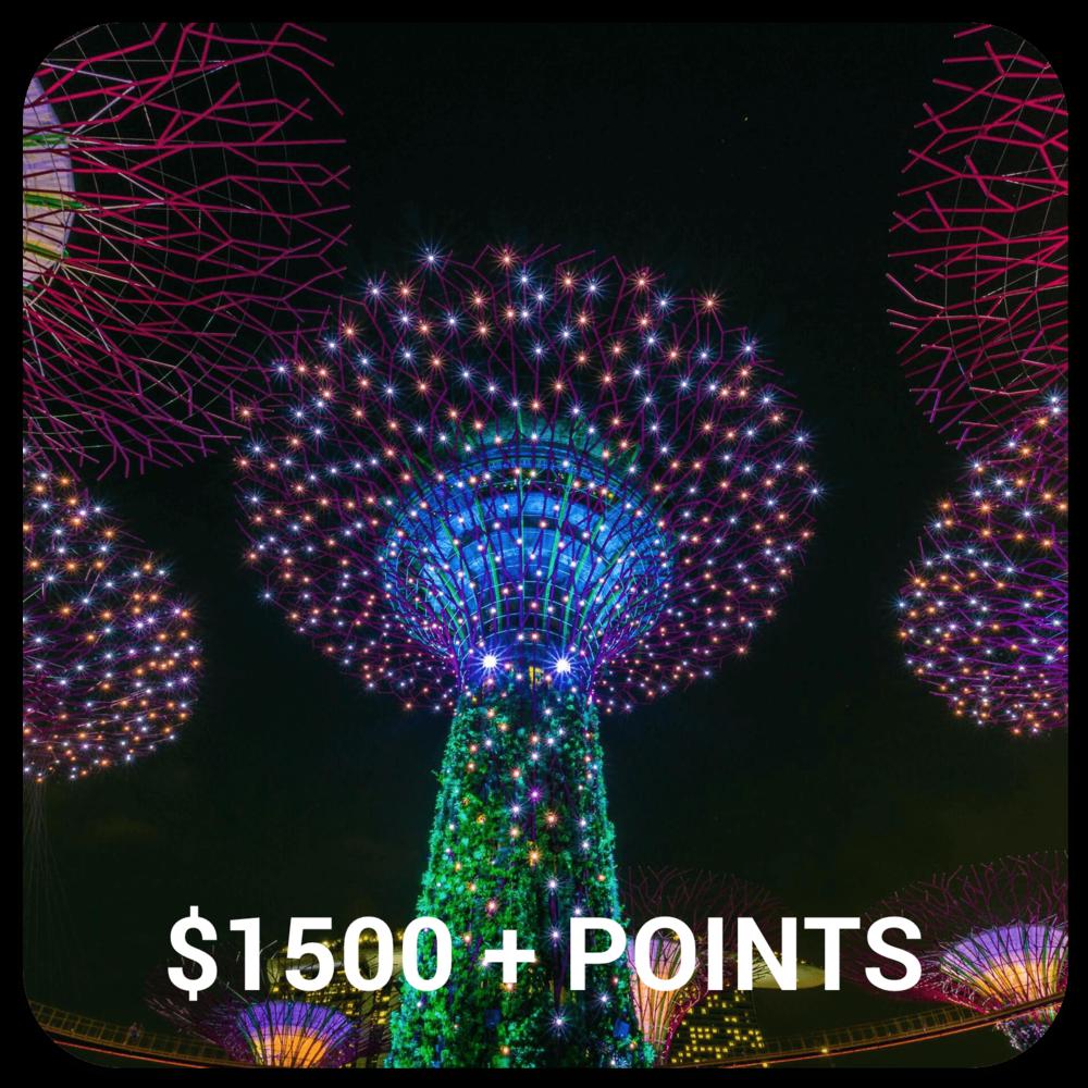 SINGAPORE RRP $4250+ RETURN