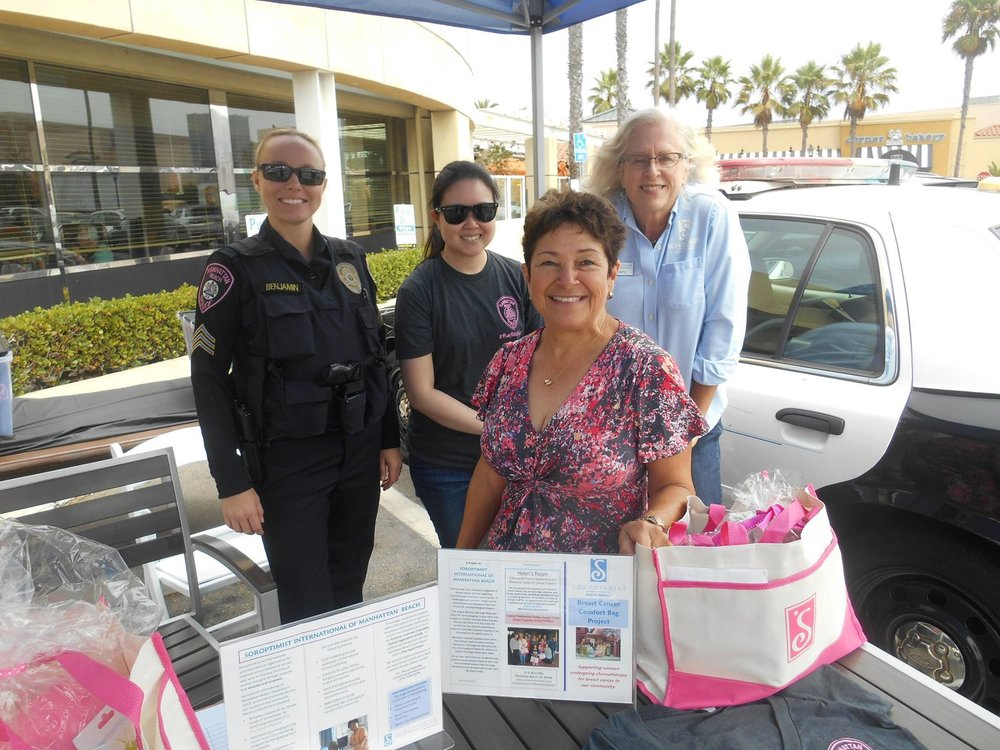 "Pink Patch Project - The Pink Patch Project is a collaborative effort between SIMB and MBPD. This is the second year we have partnered together to raise money for our Breast Cancer Comfort Bags. Nationally the program centers on vibrant pink versions of the public safety officer's uniform patch. These bright pink patches have been specially designed by each participating agency specifically for the Pink Patch Project campaign. Members of each of the participating agencies wear these pink patches on their regular uniforms for the entire month of October each year during ""Breast Cancer Awareness Month."" The pink patches are intended to stimulate conversation with the community and to encourage public awareness about the importance of early detection and the on-going fight against this disease."