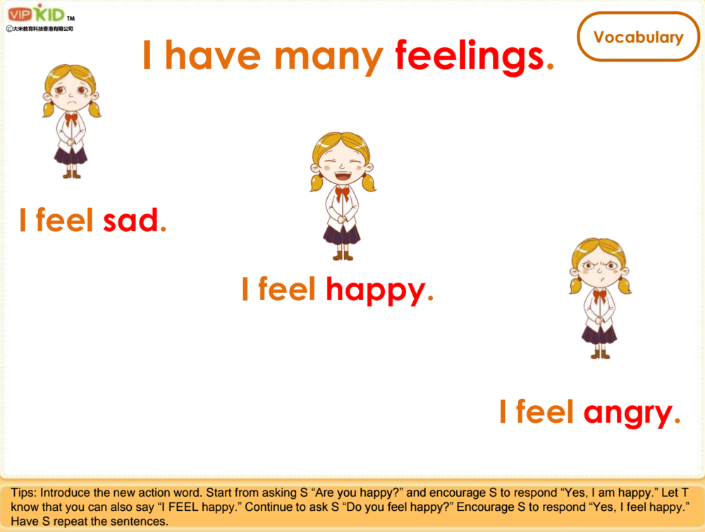 Are you happy?I am happy.(Full sentence please.) -