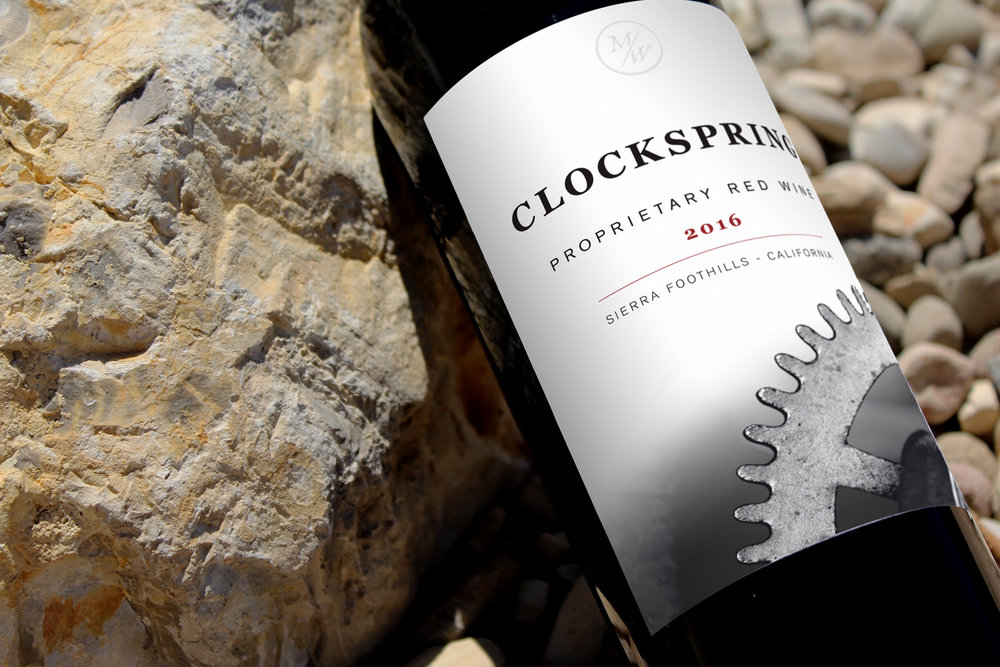 New Release - Clockspring 2016 Proprietary Red Wine
