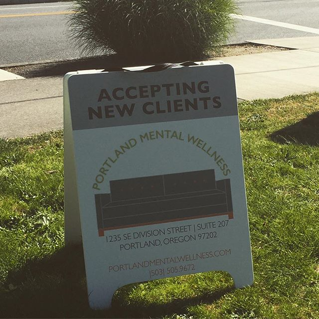 You can find us on the corner of SE 12th and Division. #portland #pdx #portlandoregon #mentalhealth #portlandmentawellness #therapy #counseling #psychology #wellness #divisionstreet
