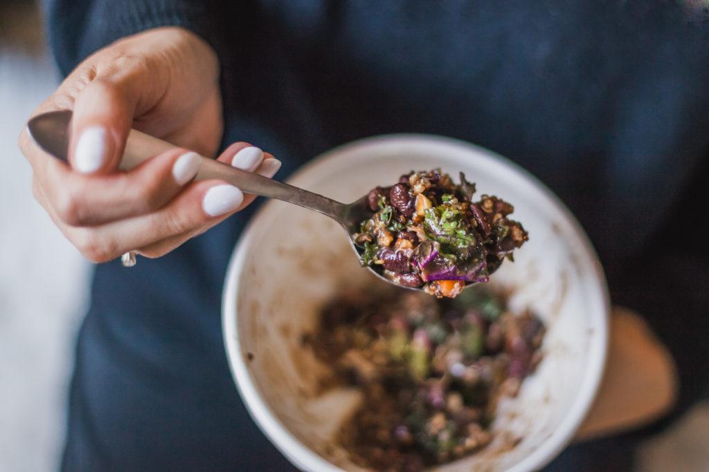 quinoa black bean kale salad recipe