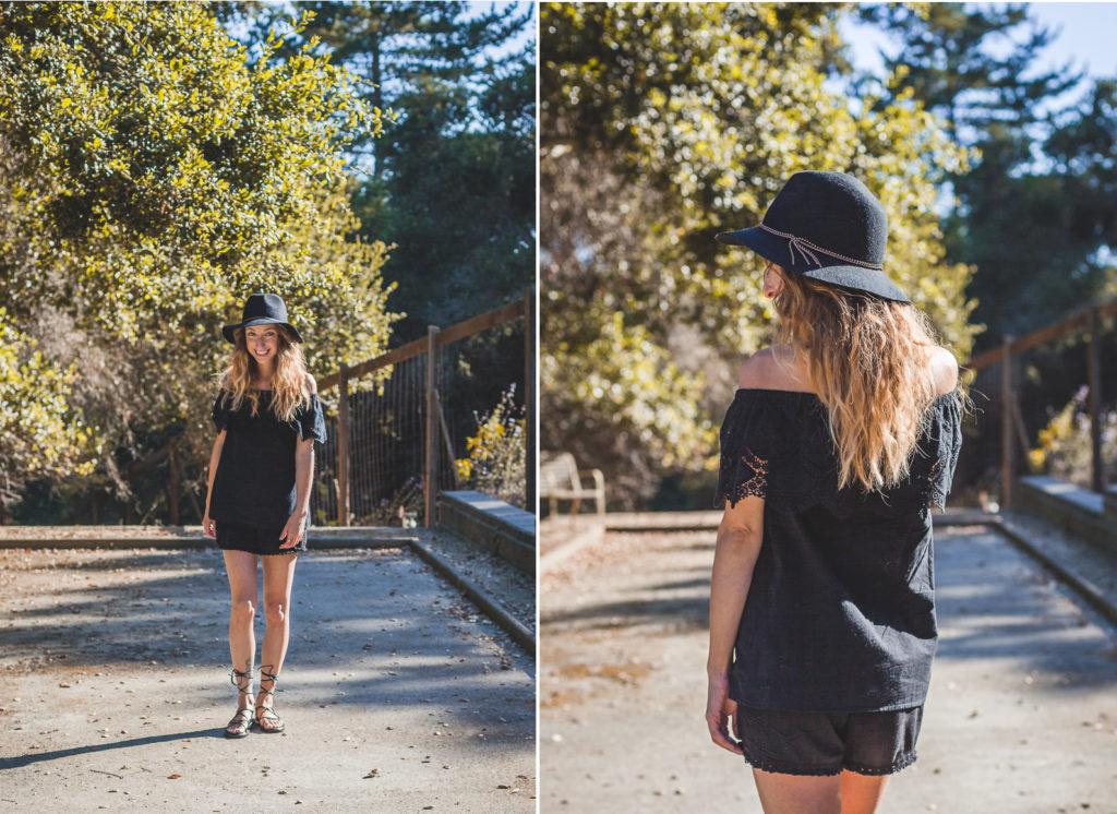 ootd summer blacks style