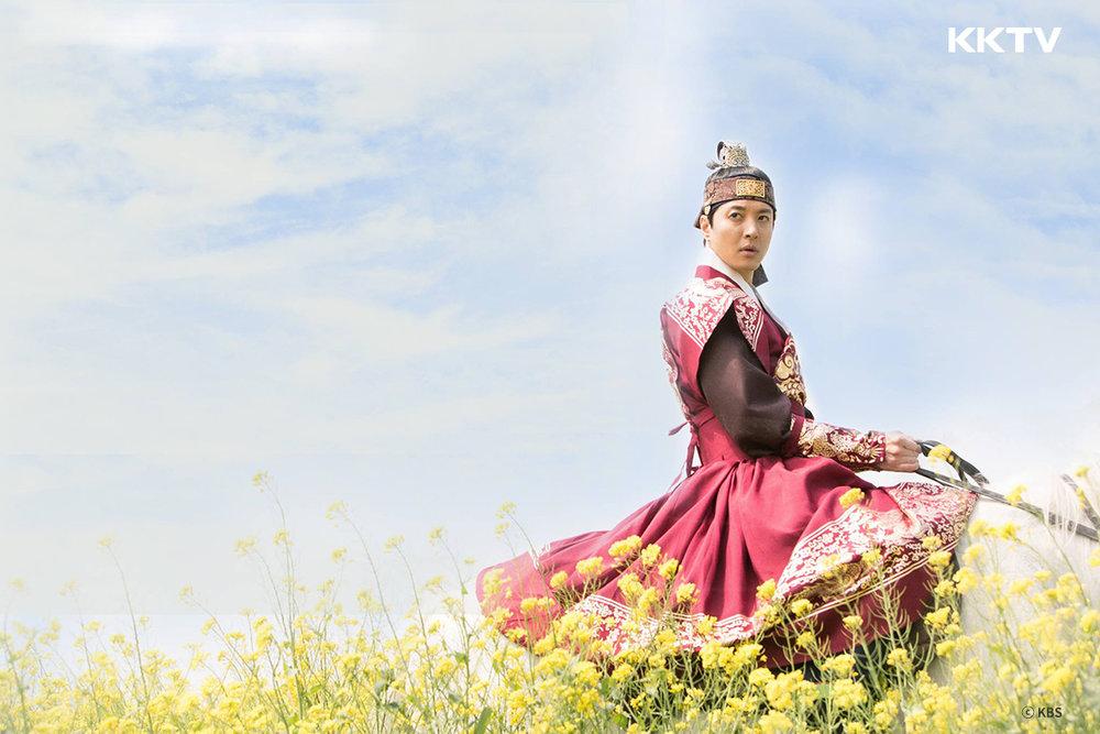 ▲ 李東健在《 七日的王妃 》中詮釋了與眾不同的燕山君