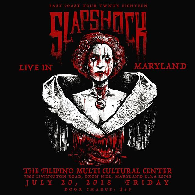 East Coast Tour will start this Friday! #SlapshockTour2018