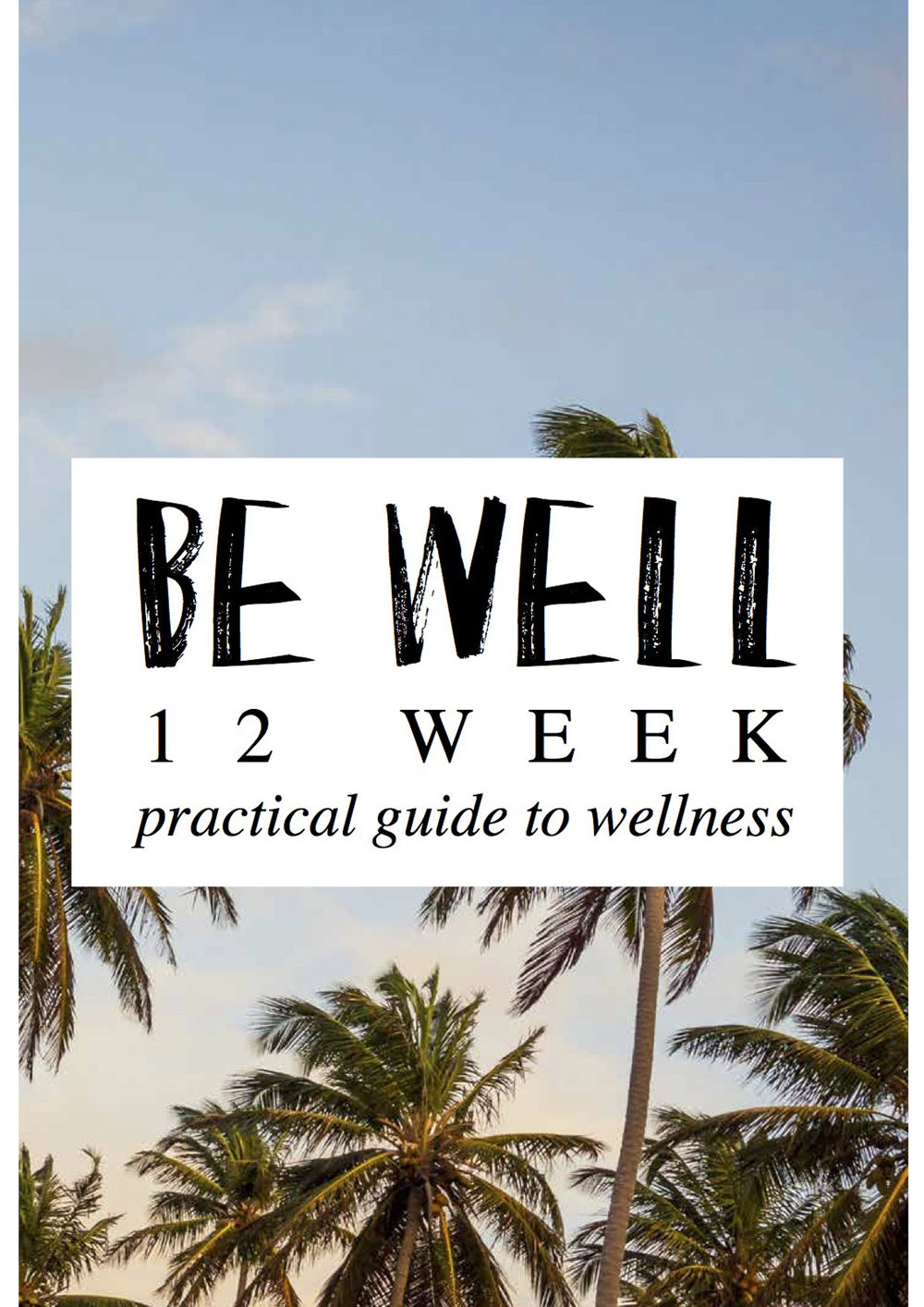 BE_WELL_WORKBOOK