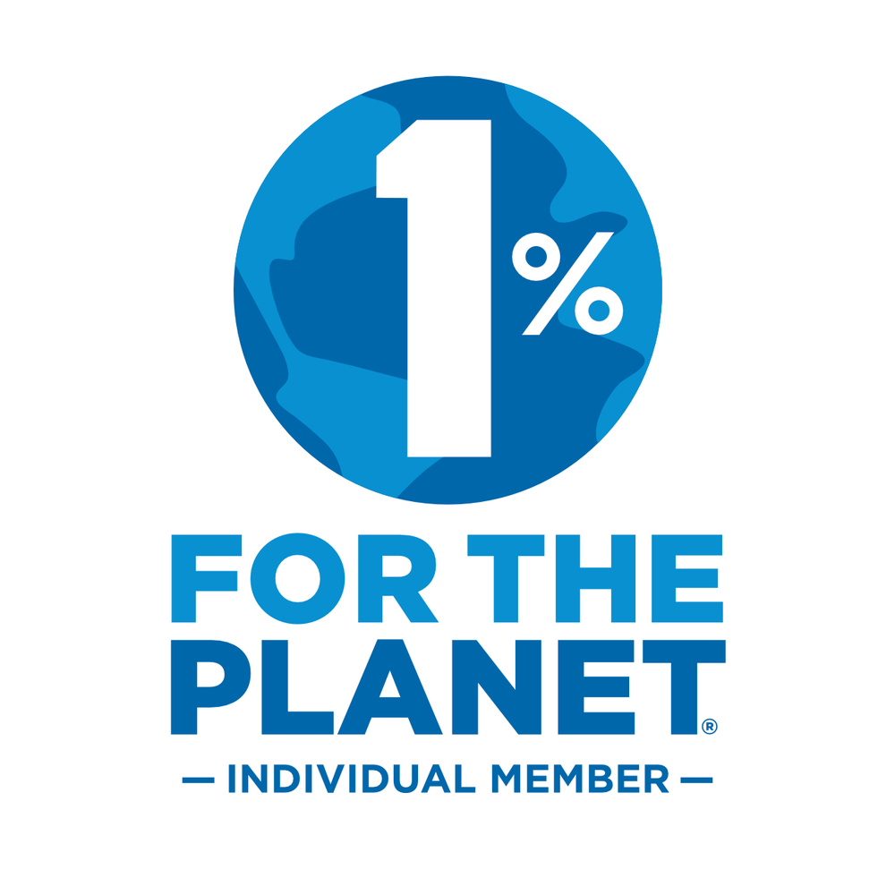 1% For The Planet - 1% For The Planet is a global movement inspiring businesses and individuals to support environmental solutions through annual membership and everyday actions.I donate 1% of my earnings to this great cause, and aim to get more involved in the future.
