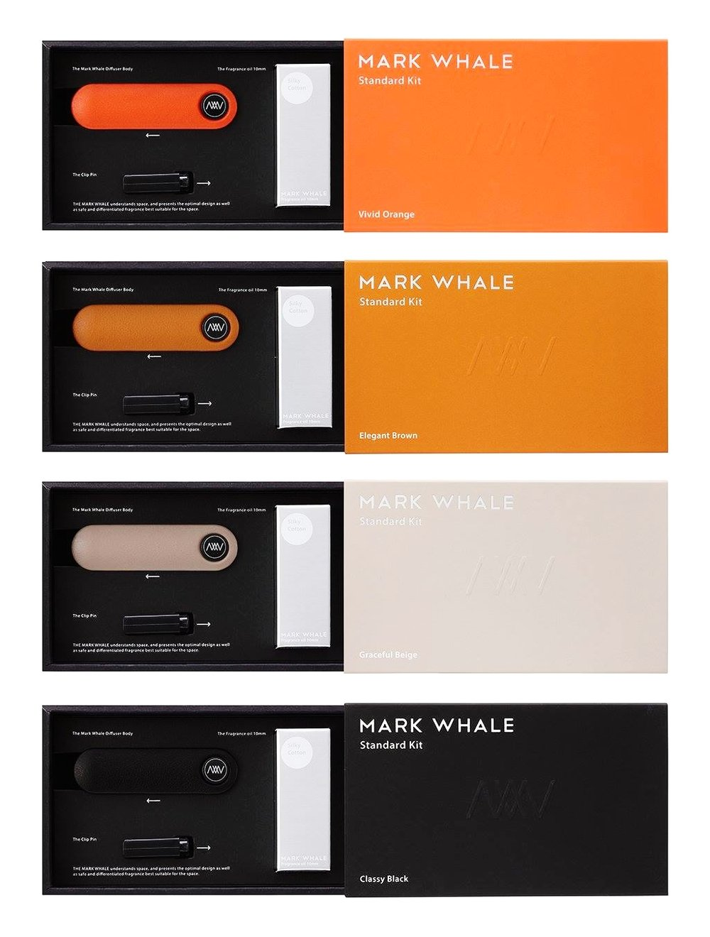 New Standard Kit from the MARK WHALE collection - Made in Korea - available at  #TORAVY . Keeping your car smelling fresh has never been so stylish!  100% perfume is produced luxuriously with different colors of Italian cowhide
