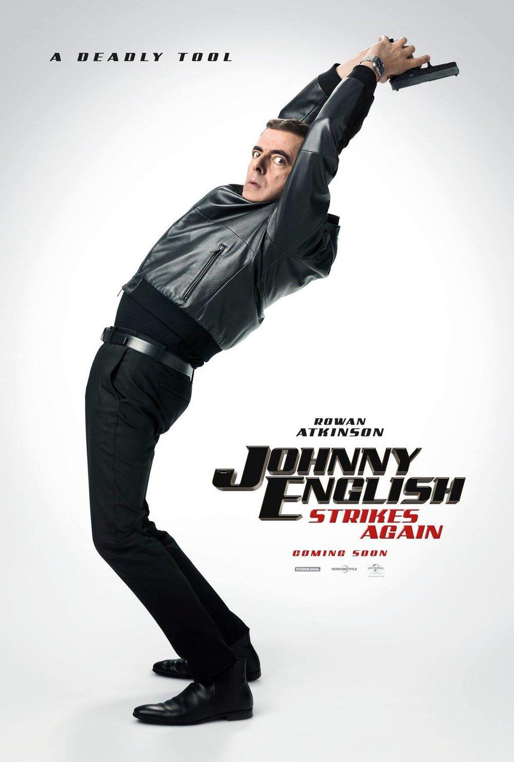 Johnny English - Coming soon to cinemas nationwide…
