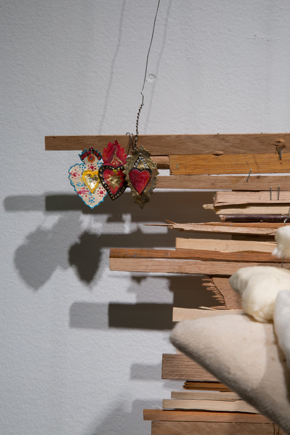 My Bed (Detail, The hearts)