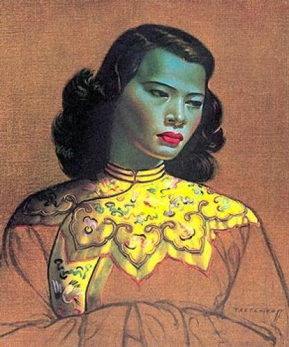 Vladimir Tretchikoff The Green Lady