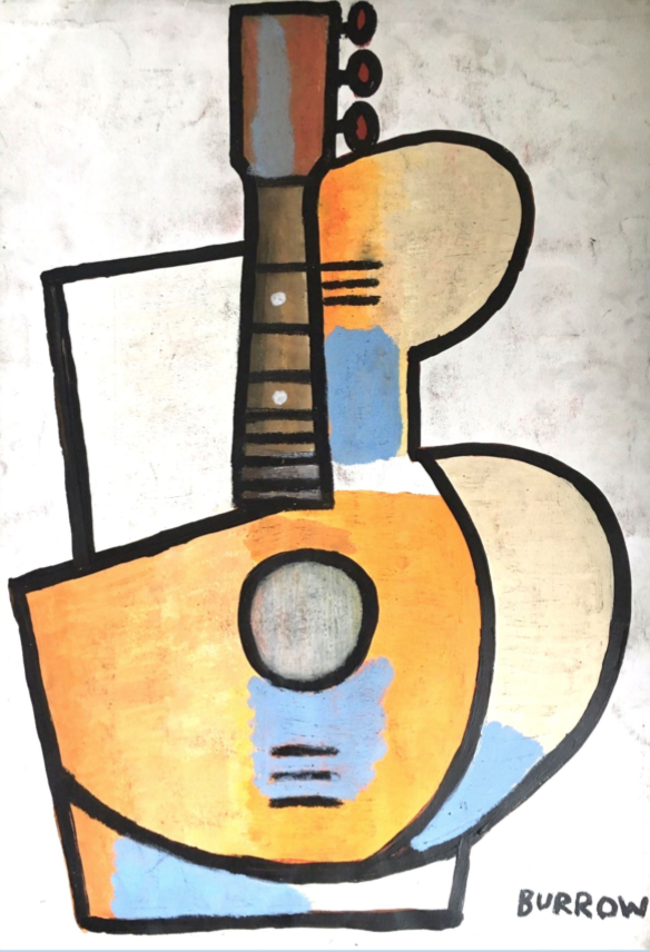 Cubic Rhythm by David Burrow