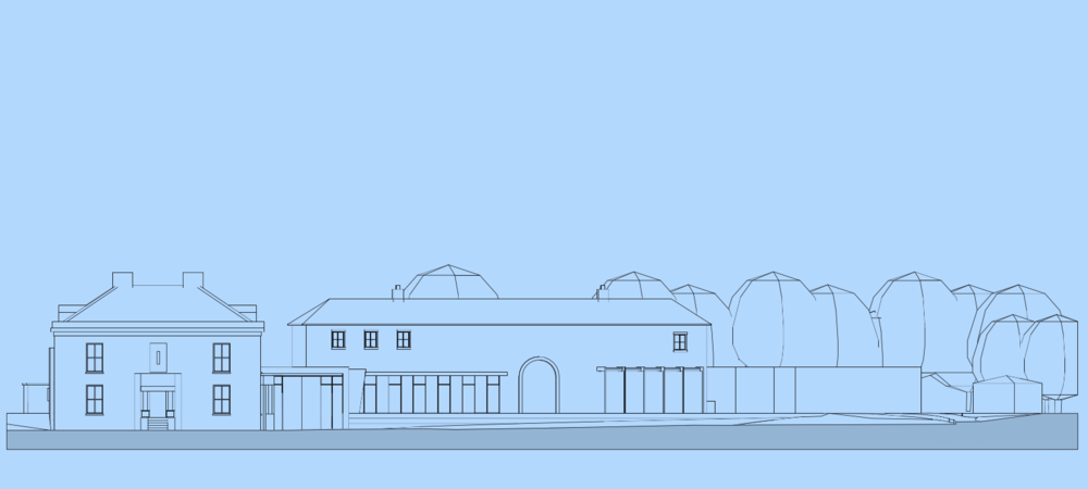 Proposed North West Elevation